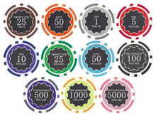 100 Eclipse 14 Gram Poker Chips Bulk - The Poker Store .Com