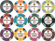 100 Showdown Casino 13.5 Gram Poker Chips Bulk - The Poker Store .Com