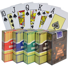 Classic 100% Plastic Playing Cards Poker Size Jumbo Index -10 Decks