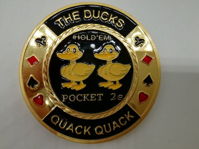 Ducks Deuces Pocket Twos Poker Card Guard
