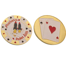 Pocket Rockets Golden Aces Card Guard