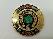 Good Luck Light Poker Card Guard