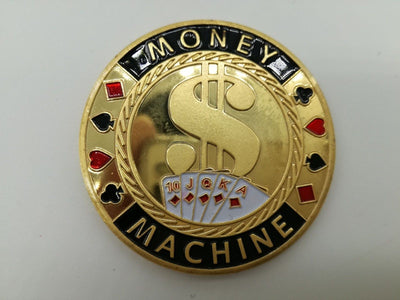Money Machine Light Poker Card Guard