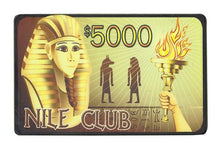 Nile Club $5,000 Plaque 40 Gram 5 Pack