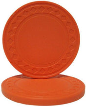 Orange Super Diamond 8.5 Gram - 100 Poker Chips