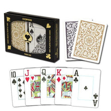 Playing Cards - 1 Dozen 12 Sets Copag Cards Black Gold Bridge Size Jumbo Index
