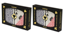 Playing Cards - 2 Sets Copag Cards Red Blue Poker Size Jumbo Index