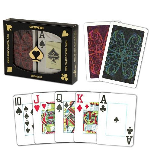 Playing Cards - 3 SET SPECIAL Copag 100% Plastic Playing Cards