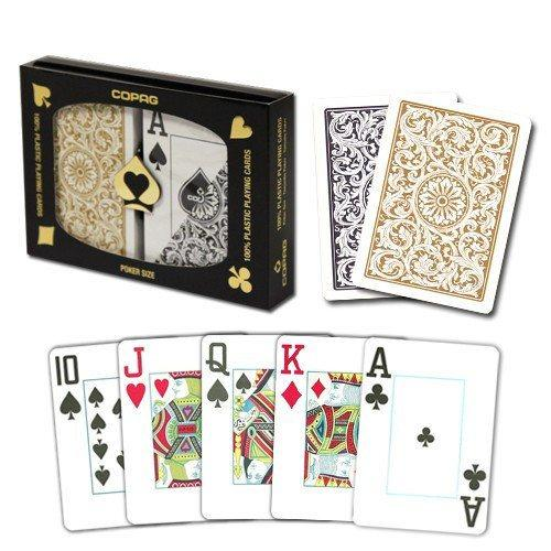 Playing Cards - 4 SET SPECIAL Copag 100% Plastic Playing Cards