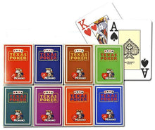Playing Cards - 8 Decks Of Modiano 100% Plastic Cards Poker Jumbo 8 Colors