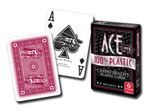 Playing Cards - ACE 100% Plastic Playing Cards - Single Deck Random Color