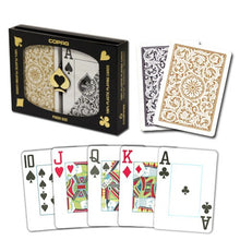 Playing Cards - Copag Black Gold Poker Size Jumbo Index