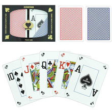 Playing Cards - Copag Cards Dual Index Red Blue Poker Size Peek