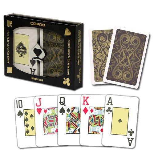 Playing Cards - Copag Iluminura Bridge Size Jumbo Index