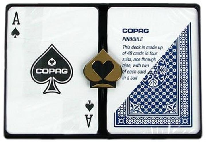 Playing Cards - Copag PINOCHLE Cards Standard Index