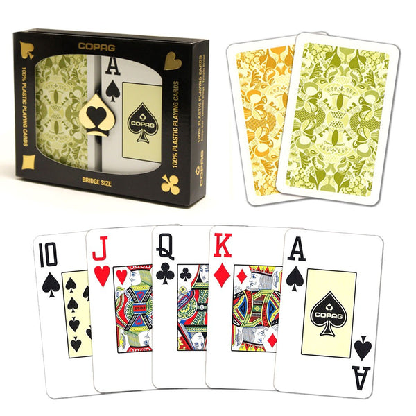Playing Cards - Copag Saraswati Bridge Size Jumbo Index