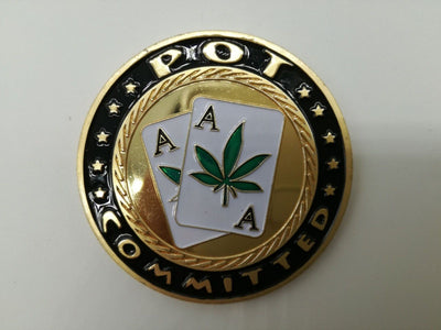 Pot Committed Ace Poker Card Guard