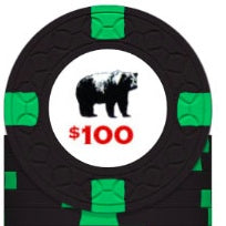 Rounders KGB $100 Poker Chip Card Guard