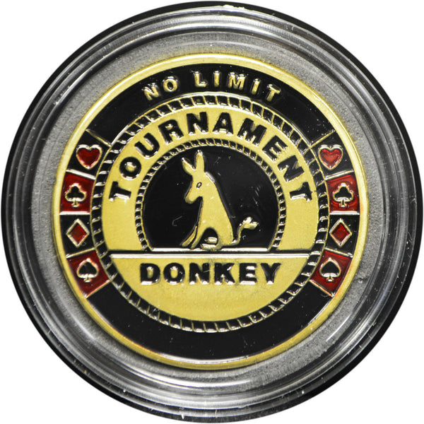 Tournament Donkey Poker Card Guard