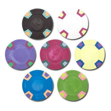 Sample Pack Blank Milano 10 Gram Pure Clay Poker Chips