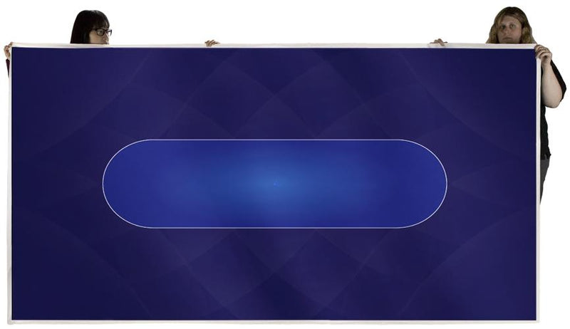 Supplies - Blue Sublimation Poker Table Felt