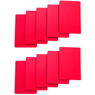 Supplies - Cut Cards - Pack Of 10