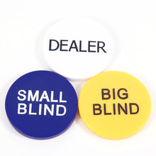 Supplies - Dealer Button, Small Blind & Big Blind Combo