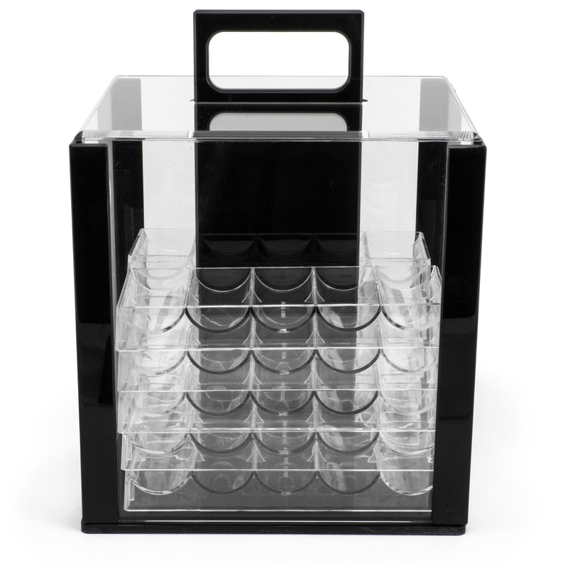 Supplies - Empty 1000 Ct Acrylic Carrier Case With 10 Racks