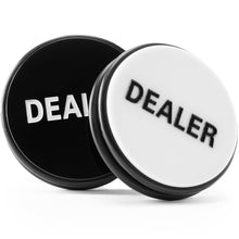 Supplies - Huge 2 Sided Poker Dealer Button