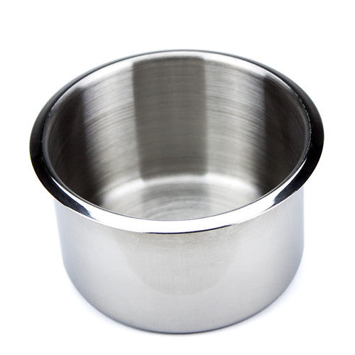 Supplies - Jumbo Stainless Steel Drop In Cup Holders - 10 Pack