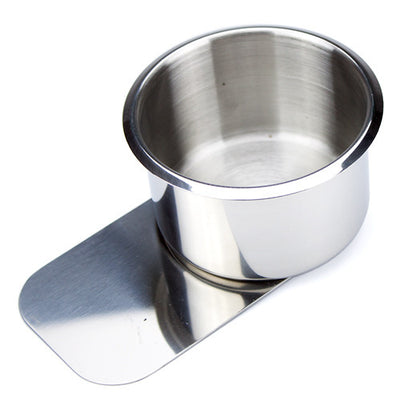 Supplies - Jumbo Stainless Steel Slide Under Cup Holders - 10 Pack