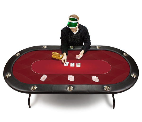 Supplies - Red Sublimation Poker Table Felt