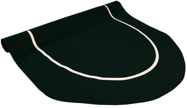 Table - Black Sure Stick Oval Rubber Poker Table Top 70x35