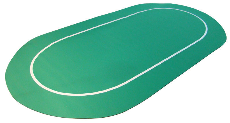 Table - Sure Stick Oval Rubber Poker Table Top 70x35