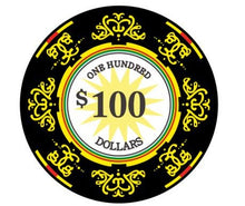 $100 Classic Ceramic 10 Gram - 100 Poker Chips