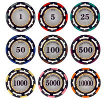 Z Pro 13.5 Gram Poker Chips Sample Pack