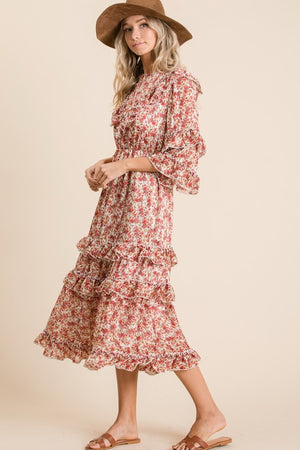 Ruffle Garden Party Dress