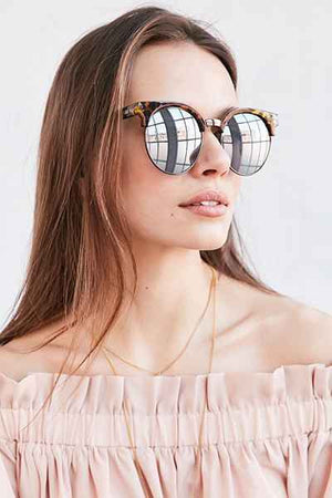 Highly Strung Tort & Silver Sunglasses