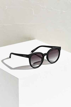 Like Wow Black & Smoke Sunglasses