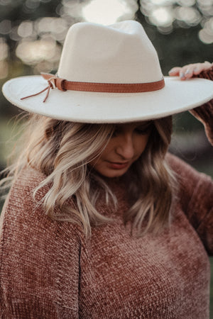 Hunter Beige Hat