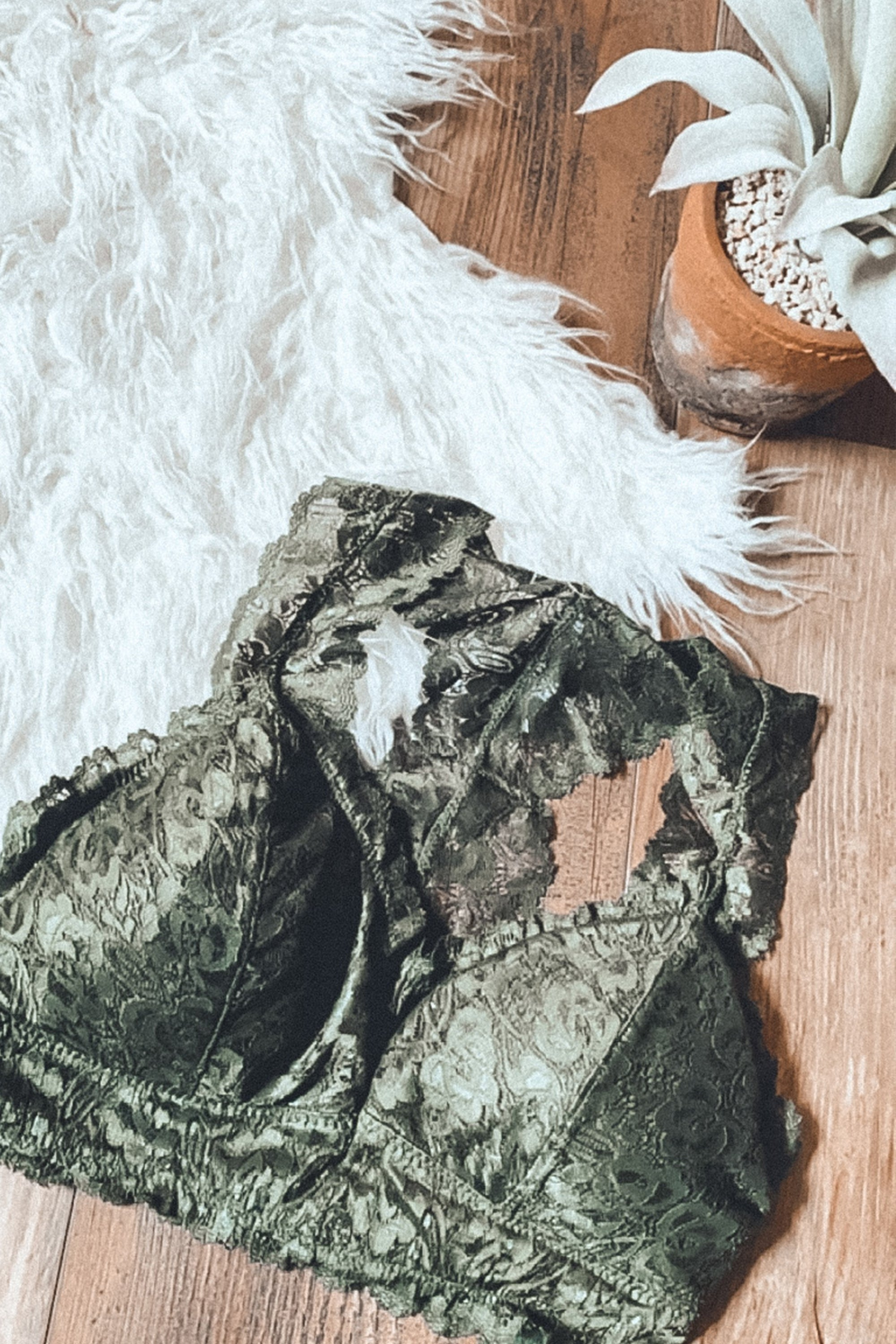 Army Green Bralette