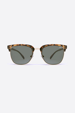 Flint Tort & Green Sunglasses