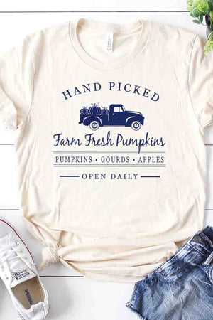 Hand Picked Pumpkins Tee