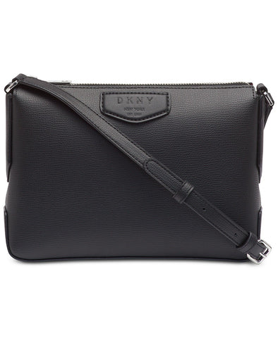 DKNY Sullivan Leather Top-zip Crossbody