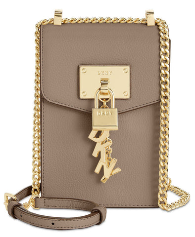 DKNY Elissa Pebbled Charm Mini Crossbody
