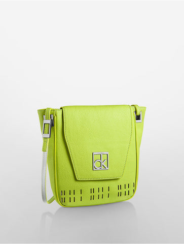В НАЛИЧИИ Calvin Klein Hailey City Perforated Crossbody
