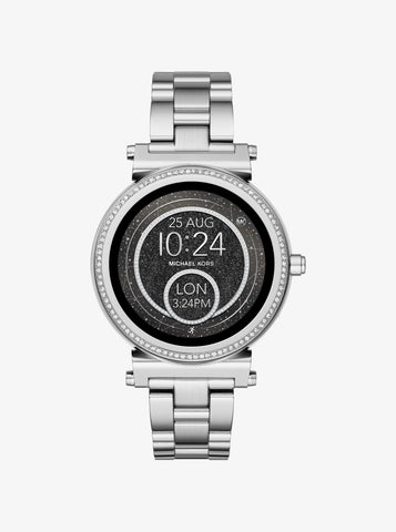Michael Kors Sofie Access Silver-Tone