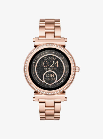 Michael Kors Sofie Access Rose Gold