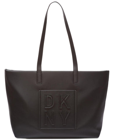 DKNY Tilly Stacked Logo Top Zip Tote