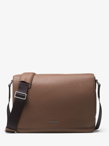 Michael Kors Bryant Large Leather Messenger